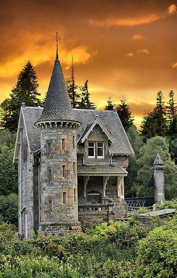 Medieval House, Scotland