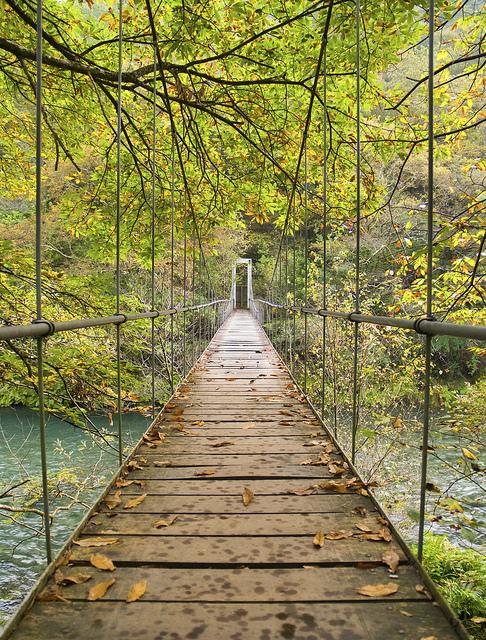 Plank Bridge, Galacia, Spain