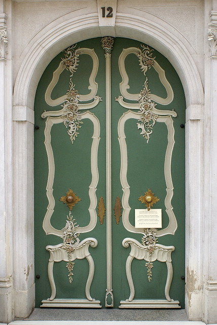 Uphagen House Door by zpiotrz, via Flickr