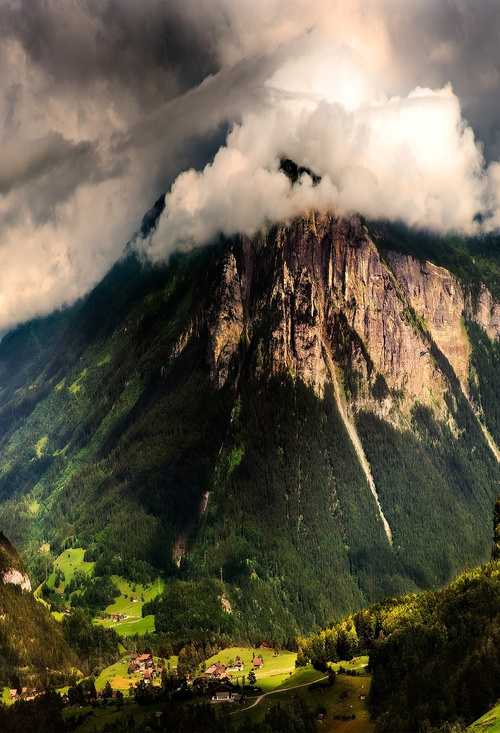 Mountain Storm, The Alps, Switzerland