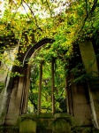 Ancient Arch, St Dunstan-in-the-East, London, England