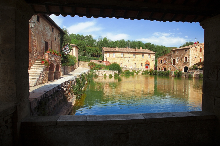 Bagno Vignoni by Christian Wilt ~ Tuscany, It