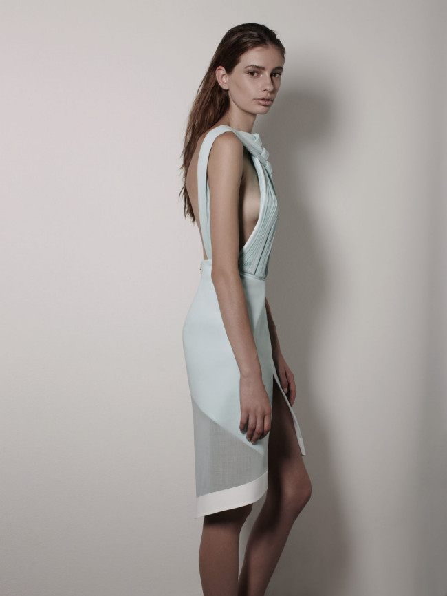 Dion Lee Woolmark Collection 2013 (3)