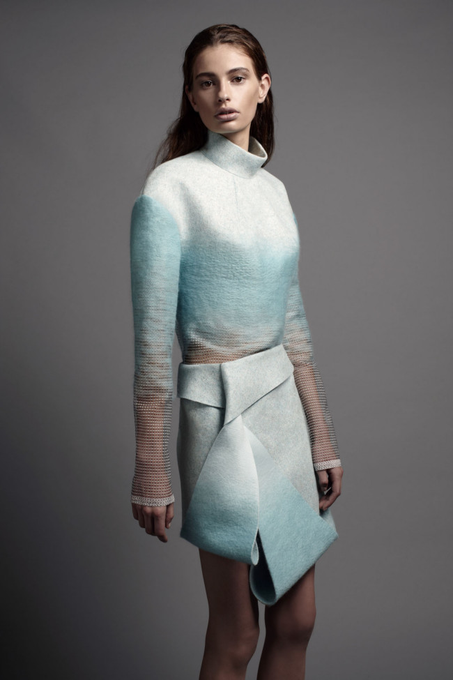 Dion Lee Woolmark Collection 2013 (8)