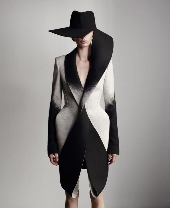 Dion Lee Woolmark Collection 2013