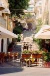 Old stairway in Taormina, Sicily